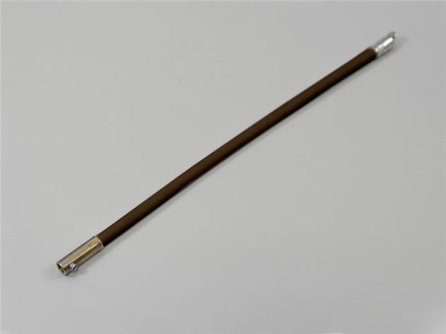 1st / Wire med skruv för mellanglas persienn 19 cm BRUN (M30)