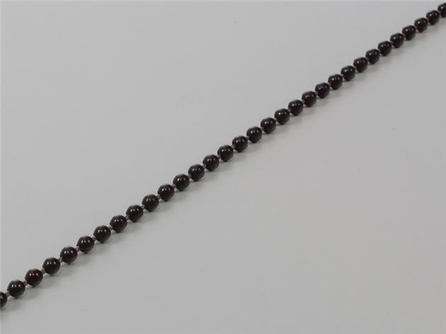 Kulkedja 3,2/4,2 mm Plast BRUN (metervara) (R32-42-BR)