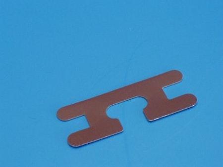 Lamellclips 25 mm aluminium BRUN (M17)