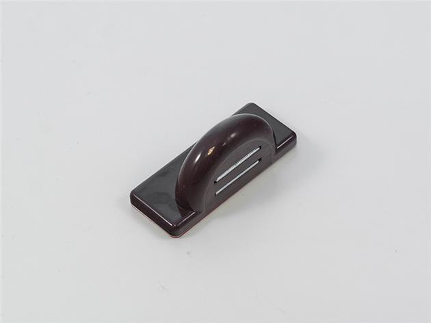 1 st Magnet vinklad Brun för tejpomontering (A29E+H)