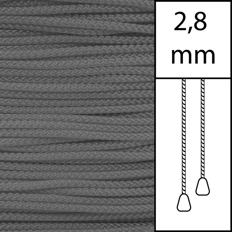 1m / Persiennlina 2,8 mm (GY) Grey  (LAGER-VARA)