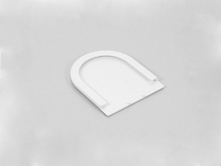 Täcksida för beslag grå fjädermekanism 25 mm (A27O)