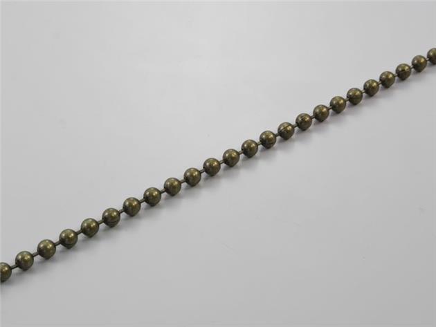 Kulkedja 4,5/6.0 mm metall Brons (R22)(R45-06-MB)
