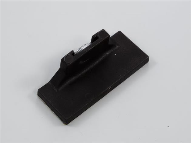 1 st Magnet vinklad för tejp montage eller skruv Brun (A29H)