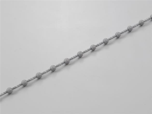Kulkedja för lamellgardin mekanism GRÅ 4,5 x 12 mm (R45-12-GR)