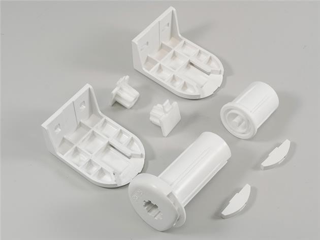 Monteringssats för rullgardin 25 mm med kulkedja VIT (A04)