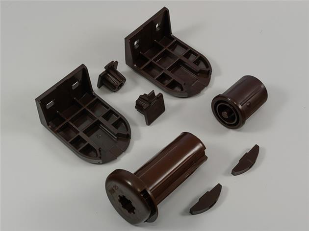Monteringssats för rullgardin 25 mm med kulkedja BRUN (A04)
