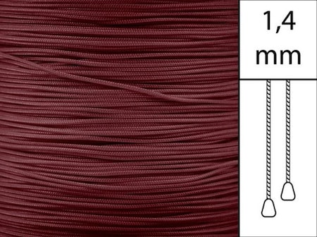 1 m / Persiennlina 1,4 mm A19 Crimson (best.vara)