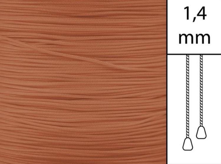 30 m / Persiennlina 1,4 mm W64 Ginger (Best.vara min 30m)