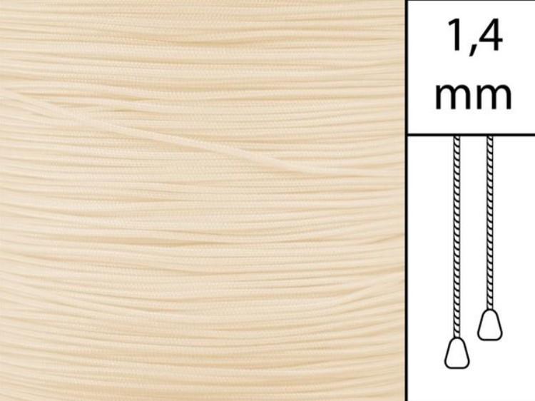 1 m / Persiennlina 1,4 mm A15 Vanilla (best.vara)