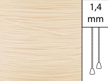 30 m / Persiennlina 1,4 mm A15 Vanilla  (best.vara minst .30m)