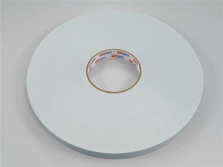50 m / Dubbelhäftande 15 mm tejp (hel rulle)