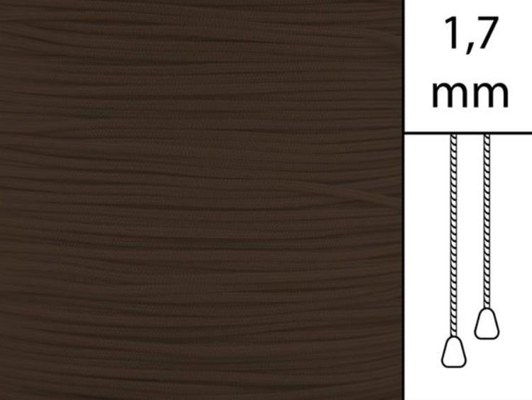 50 m / Persiennlina 1,7 mm C8018 Cacao  (best.vara minst .50m)