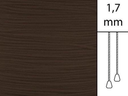 30 m / Persiennlina 1,7 mm C8018 Cacao  (best.vara minst .30m)