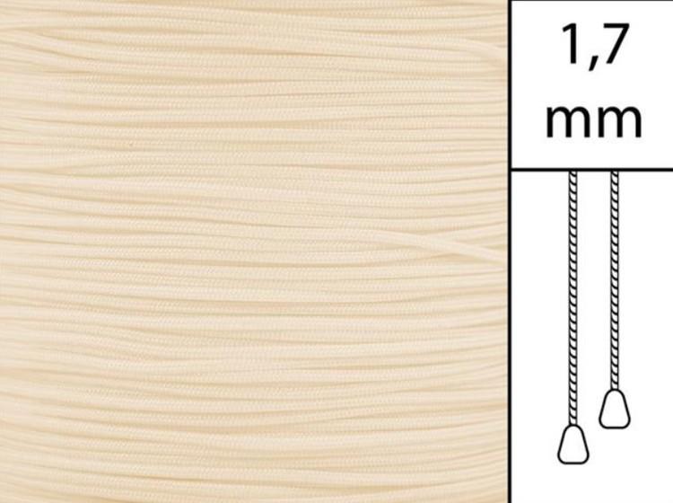 1 m / Persiennlina 1,7 mm A15 Vanilla (best.vara)