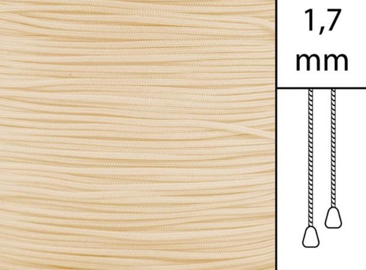 1 m / Persiennlina 1,7 mm C0801 Beige  (best.vara minst .50m)