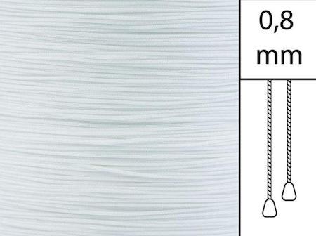 1 m / Persiennlina 0,8 mm A00 White (Lagervara)