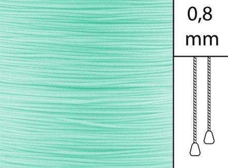 1 m / Persiennlina 0,8 mm A11 Aquamarine (best.vara)