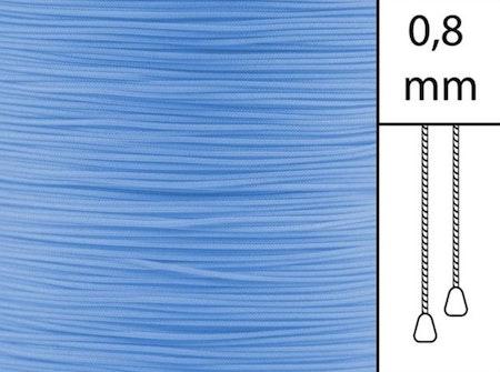1 m / Persiennlina 0,8 mm A06 Blue (best.vara)
