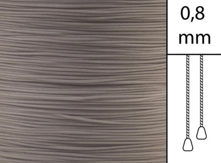 1 m / Persiennlina 0,8 mm A18 Light brown (best (best.vara).vara)
