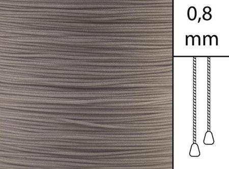 1 m / Persiennlina 0,8 mm A18 Light brown  (best.vara minst .50m)