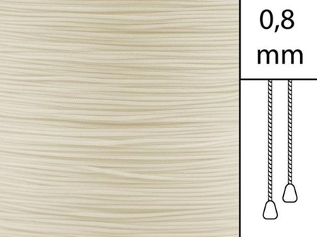 1 m / Persiennlina 0,8 mm A27 Light beige  (lagervara)