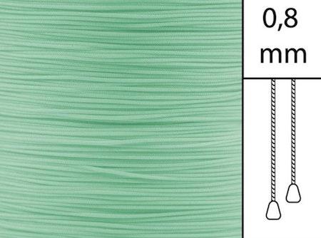 30 m / Persiennlina 0,8 mm S12 Light green  (best.vara min .50m)