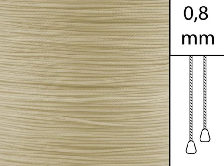 30 m / Persiennlina 0,8 mm S05 Vanilla  (best.vara min .30m)