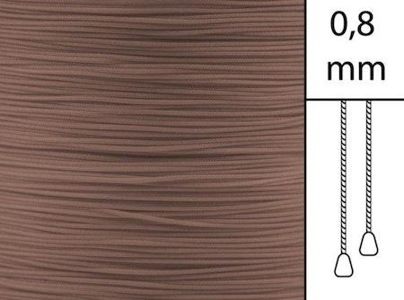30 m / Persiennlina 0,8 mm S11 Dark beige  (best.vara minst .30m)