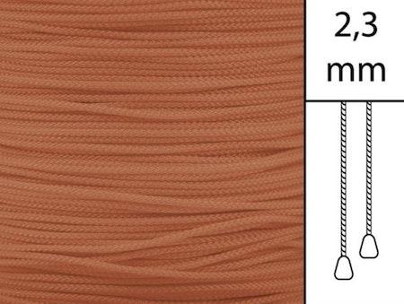 20 m / Persiennlina 2,3 mm W64 Ginger  (best.vara min.20m)