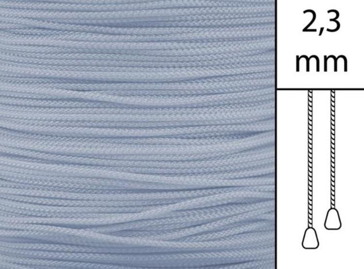 1 m / Persiennlina 2,3 mm W05 Silver (best.vara)