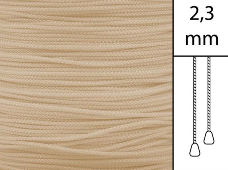 1 m / Persiennlina 2,3 mm W82 Mocca (best.vara)