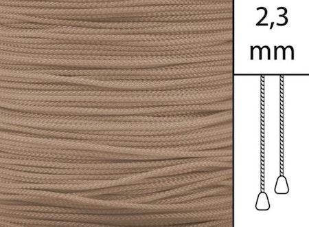 1 m / Persiennlina 2,3 mm W13 Dark beige (Lagervara)