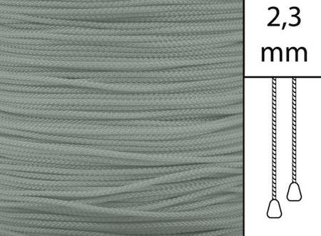 1 m / Persiennlina 2,3 mm W83 Dark grey  (best.vara min.30m)