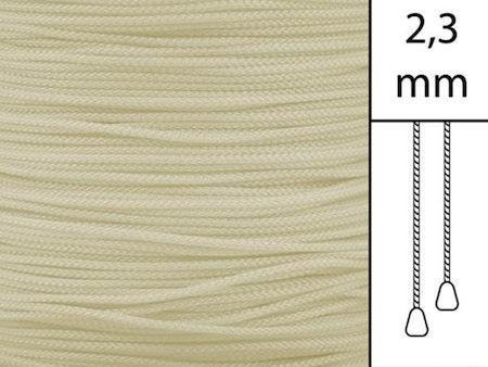 1 m / Persiennlina 2,3 mm W12 Beige (Lagervara)