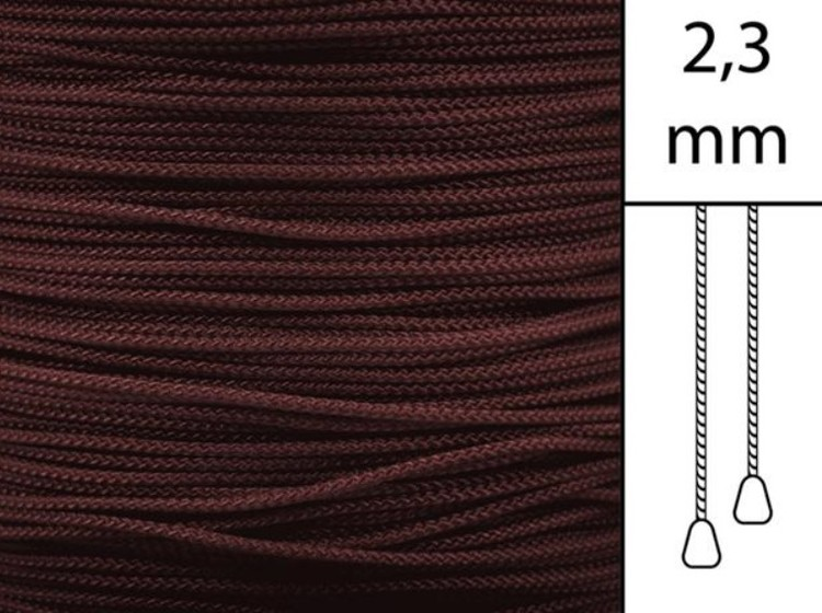1 m / Persiennlina 2,3 mm W19 Crimson (best.vara)