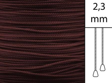 1 m / Persiennlina 2,3 mm W19 Crimson (best.vara)