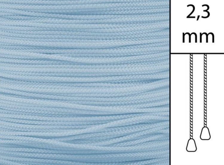 1 m / Persiennlina 2,3 mm W86 Turquoise  (best.vara min.30m)