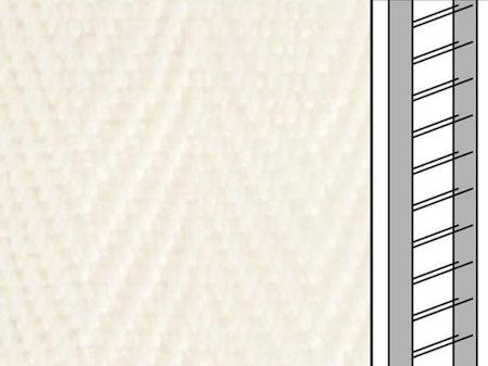 1m / Textilstegband C8001 44/53/T25 Ivory (best.vara 10 dgr)