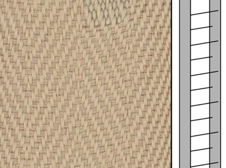 1m / Textilstegband F0512 44/53/T25 Light beige (lagervara)