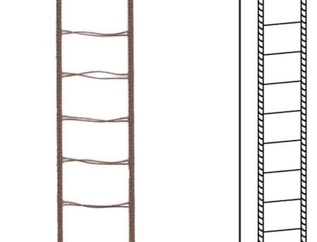 10 m / Stegband D16 13,2/20,5 A25 Dark brown (lagervara)