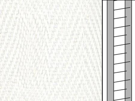 1 m / Textilstegband D35T F0510 31/38/T16 White (best.vara)
