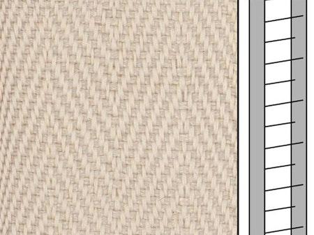 1 m / Textilstegband D35T F0511 31/38/T16 Broken white (best.vara)