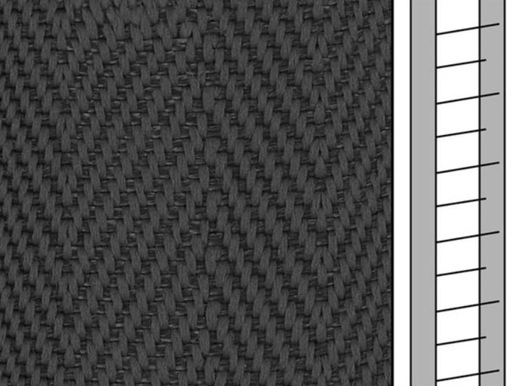 1 m / Textilstegband D35T F0533 31/38/T16 dark grey (best.vara)