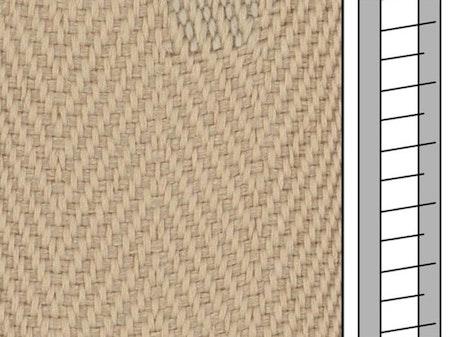 1 m / Textilstegband D35T F0512 31/38/T16 light beige (best.vara)
