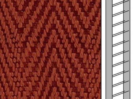 Textilstegband C0804 22,5/28/T13 terracotta (best.vara 10 dgr)