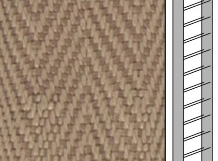 Textilstegband C8016 22,5/28/T13 dark beige (best.vara 10 dgr)
