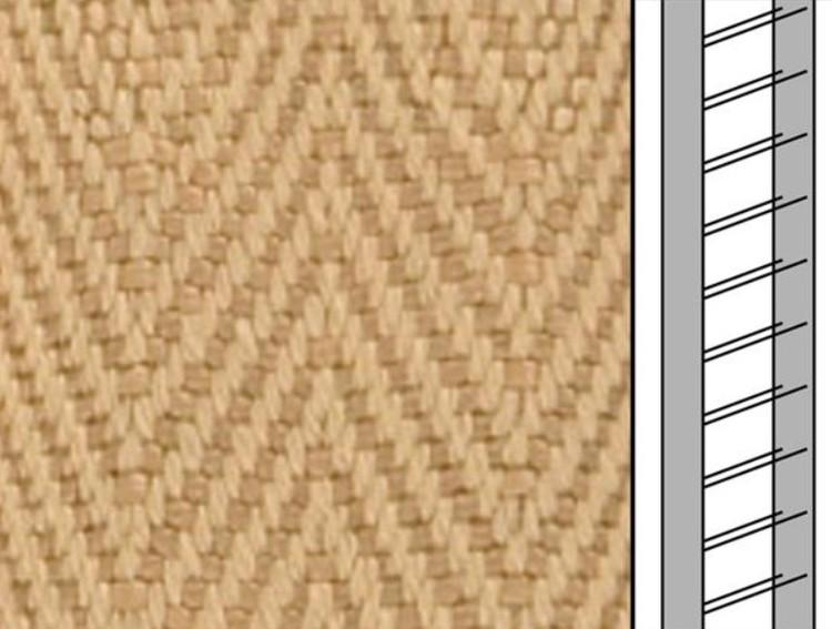 Textilstegband C8006 22,5/28/T13 mocca (best.vara 10 dgr)
