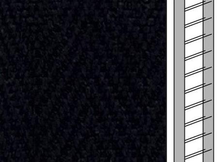 Textilstegband C8014 22,5/28/T13 black (best.vara 10 dgr)