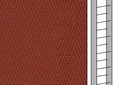 Textilstegband F0525 44/53/T38 terracotta (best.vara 10 dgr)